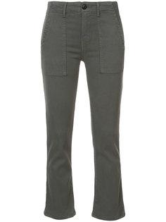 укороченные брюки The Great