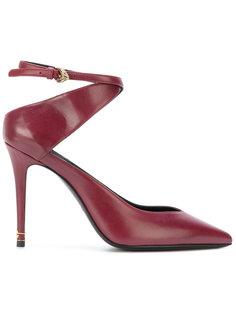 туфли с асимметричной лямкой Roberto Cavalli