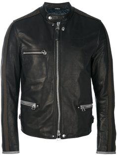 байкерская куртка без воротника Lanvin
