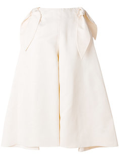 широкие брюки с бантом Delpozo