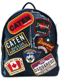 рюкзак с нашивками Dsquared2