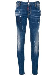 облегающие джинсы Dsquared2