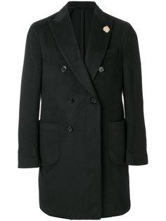 классическое двубортное пальто Lardini