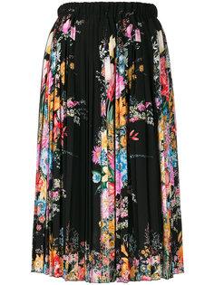 плиссированная юбка с цветочным принтом Nº21