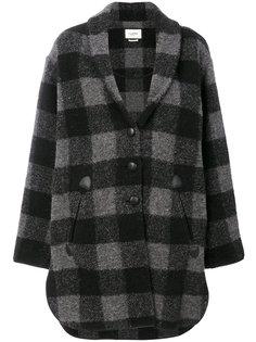 пальто в клетку  Isabel Marant Étoile