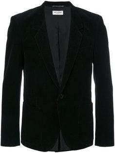 классический вельветовый пиджак Saint Laurent