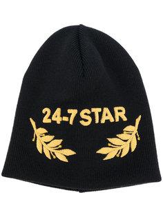 шапка-бини с вышивкой Dsquared2