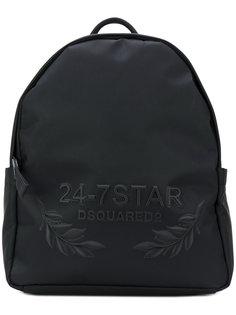 рюкзак с вышивкой логотипа Dsquared2