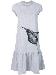 платье-футболка с принтом в виде птицы Ioana Ciolacu