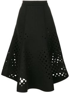 юбка с декоративной перфорацией Ioana Ciolacu