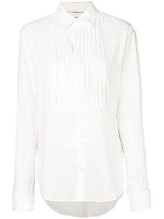 рубашка с ребристым воротником Burberry