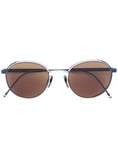 солнцезащитные очки круглой формы Thom Browne Eyewear
