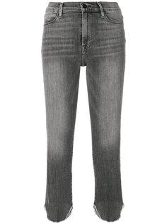 укороченные джинсы с закругленными манжетами Frame Denim