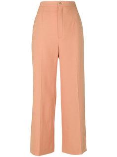 эластичные шерстяные брюки Chloé