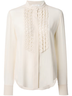 блузка с воротником-стойкой  Chloé