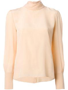 блузка с высоким воротником Chloé
