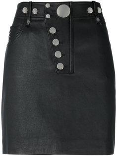 мини-юбка с несколькими кнопками Alexander Wang