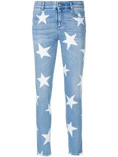 узкие джинсы со звездами Stella McCartney