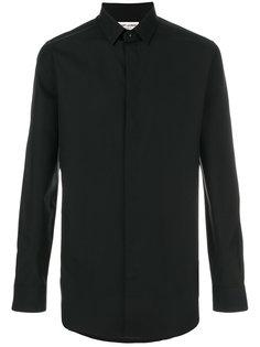 поплиновая рубашка  Saint Laurent