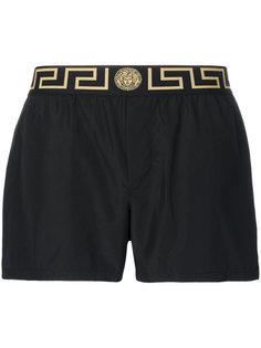 шорты для плавания Greek Key Versace