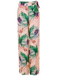 printed wide leg trousers Brigitte