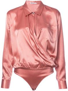 блузка с V-образным вырезом Alexander Wang