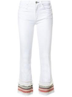 укороченные джинсы с отделкой в полоску Mcguire Denim