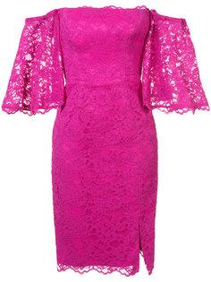 платье с цветочной вышивкой Nicole Miller