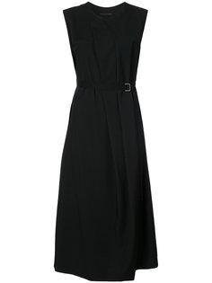 расклешенное трикотажное платье Ys Y`s