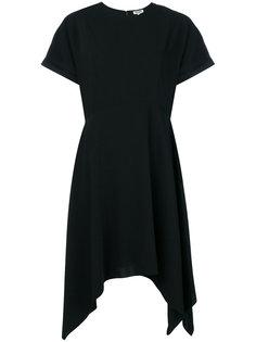 расклешенное платье с короткими рукавами Kenzo