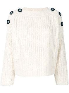 свитер с пуговицами на плечах Isabel Marant