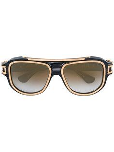 солнцезащитные очки с контрастной отделкой Dita Eyewear