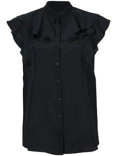 блузка с оборками Givenchy