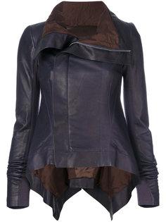 байкерская куртка-трапеция  Rick Owens
