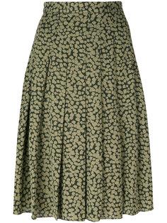 юбка в складку с рисунком Michael Michael Kors