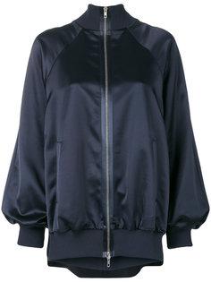 атласная куртка-бомбер  Maison Margiela