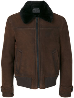 куртка с эластичным поясом Prada