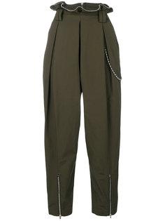 брюки с цепочкой из звеньев-шариков Alexander Wang