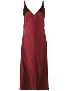 платье без рукавов и застежки Helmut Lang