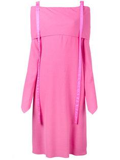 платье с приспущенными рукавами Sies Marjan