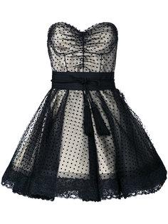 коктейльное платье в горох Marc Jacobs