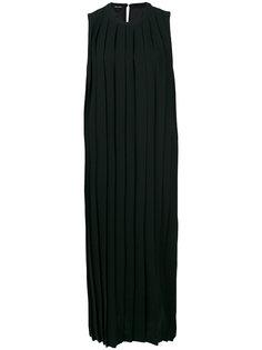 плиссированное платье Neil Barrett