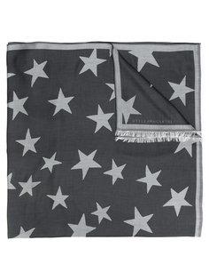 шарф с рисунком из звезд Stella McCartney