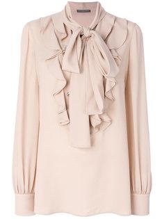 блузка с оборками Alexander McQueen