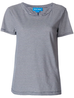 футболка в полоску с вырезом лодочкой Mih Jeans