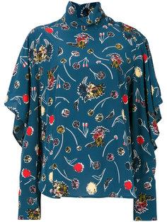 блузка с одуванчиками Marni