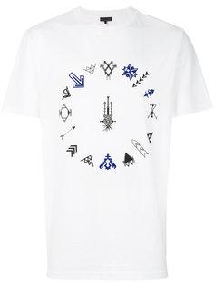 футболка с принтом в виде стрел Lanvin