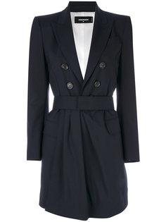 пальто с поясом  Dsquared2