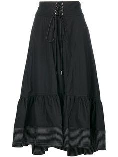 поплиновая юбка-миди 3.1 Phillip Lim