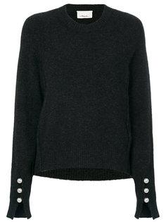 свитер с отделкой искусственным жемчугом  3.1 Phillip Lim